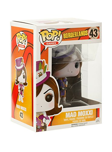 Funko - Figurine Borderlands - Mad Moxxi Red Outfit Exclu Pop 10cm - 0849803064372