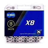 KMC チェーン X8 バイク チェーン ミッシングリンク 116リンク 自転車チェーン オリジナルボックス MTB ロードバイク自転車パーツ