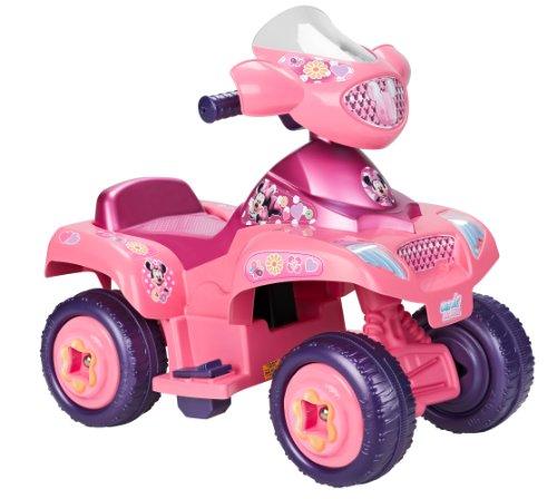 FEBER - Quad, vehículo eléctrico, diseño Minnie (Famosa 800006381)