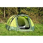 OLPRO Outdoor Leisure Products Abberley 3.7m x 2.2m 2 Berth Festival Tunnel Tent Green