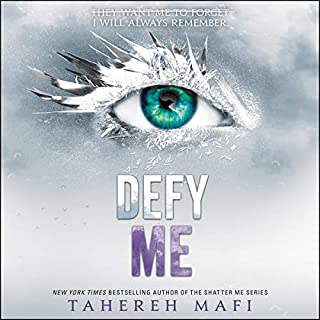 Defy Me                   By:                                                                                                                                 Tahereh Mafi                               Narrated by:                                                                                                                                 Kate Simses,                                                                                        James Fouhey,                                                                                        Vikas Adam                      Length: 7 hrs and 25 mins     193 ratings     Overall 4.6