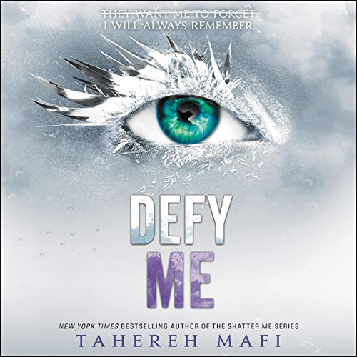 Defy Me                   By:                                                                                                                                 Tahereh Mafi                               Narrated by:                                                                                                                                 Kate Simses,                                                                                        James Fouhey,                                                                                        Vikas Adam                      Length: 7 hrs and 25 mins     2 ratings     Overall 4.5