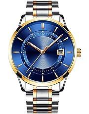 BesTn出品 腕時計 メンズ 機械式 手巻きでき スケルトン 透かし彫り 生活防水