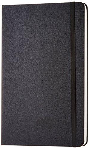 AmazonBasics klassiek notitieboek, 240 blanco pagina's, groot (12,7 x 21 cm)
