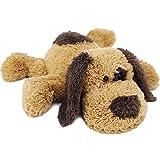 WEIGEDU Beagle Labrador Golden Retriever Stuffed Puppy Plush Dog Toy, Hugging Labradoodle Stuffed Animal Dogs for Kids Girls Boys Baby Birthday Gift, 20 inch, Brown