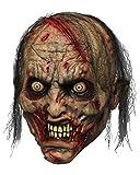Horror-Shop Maschera in Lattice Zombie Biter
