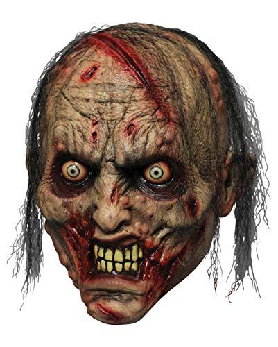 Horror-Shop Máscara De Látex Mordedor De Zombis