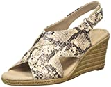 Clarks Lafley Alaine, Zapatos de Talón Abierto Mujer, Gris (Taupe Taupe), 38 EU
