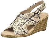 Clarks Lafley Alaine, Zapatos de Talón Abierto para Mujer, Gris (Taupe Taupe), 39 EU