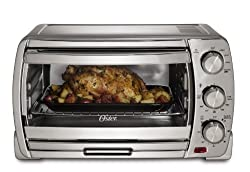 Oster Large Convection Toaster Oven TSSTTVSK01, Brushed Chrome - Toaster Oven Reviews