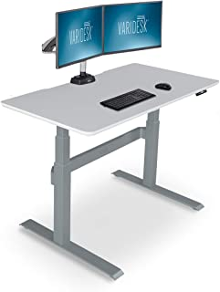 VARIDESK – Full Electric Desk – PRODESK 48 Electric White - 3-Button Memory Settings