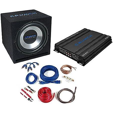 Auna 4 1 Car Hifi Set Auto Lautsprecher Set Black Elektronik