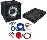 [page_title]-Crunch CBP1000– Audio-Verstärker fürs Auto (schwarz, 50–250Hz, 50–250Hz, 0–12DB, A/B, AC, RCA)