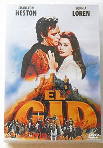 DVD EL CID SOPHIA LOREN