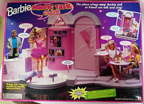 Where to buy barbie magic talk club playset club house for 1992 house music