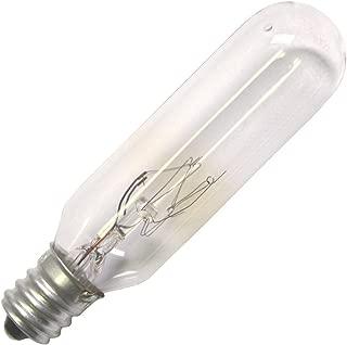 Halco 15W T6 CL Candelabra 145V Halco T6CL15//145V 15w 145v Incandescent Clear Lamp Bulb 12 Qty