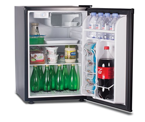 Commercial Cool Compact Refrigerator, 2.6 Cubic Feet, Black