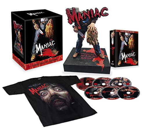 Maniac (Ultimate Limited Collector's Fan Edition) Exklusiv bei Amazon.de [Blu-ray]