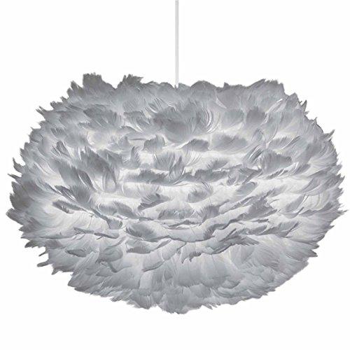 Umage/VITA Eos Hängeleuchte light grey D 45 cm für A++ bis E inkl. Kabel Set weiss Lampe