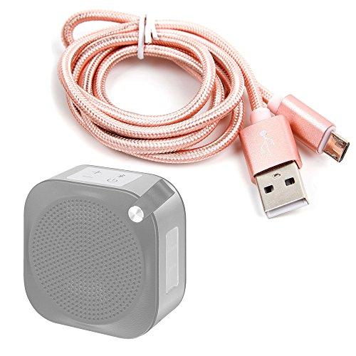 DURAGADGET Cable USB a Micro USB en Color Rosa. para Carga y...