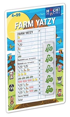 Huch & Friends 879097 - Würfelspiel - Farm Yatzy