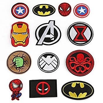 Best superhero sew on patches Reviews