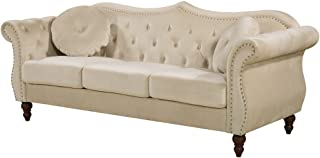 Container Furniture Direct Anna1 Sofa, Ivory