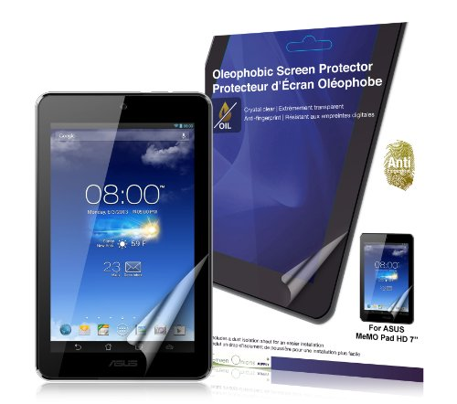 Green Onions Supply Anti Fingerprint Screen Protector voor ASUS MeMO Pad 7 inch HD Tablet - Ouder ASIN