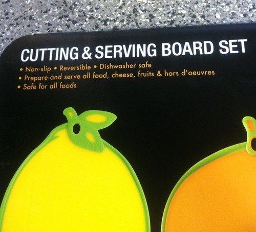 Cutting& Serving Board Set (3 pack)