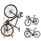 GORIX(ゴリックス) 自転車 スタンド [縦置き 横置き 掛置き 3タイプ] HS-013D (オレンジ)
