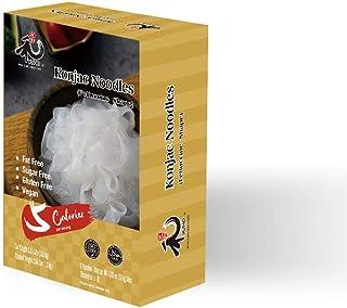 YUHO Shirataki Konjac Fettuccine, 8 Pack Inside, Vegan, Low Calorie Food, Gluten Free, Fat Free, Keto Friendly, Zero Carbs...