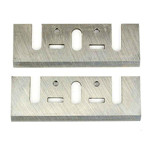 3-1/4 Inch 82mm TCT Carbide Planer Blades Replacement For Makita 1900B, KP0810, KP0800K, DeWalt D26676, DW6655, DW680, Bosch, Ryobi