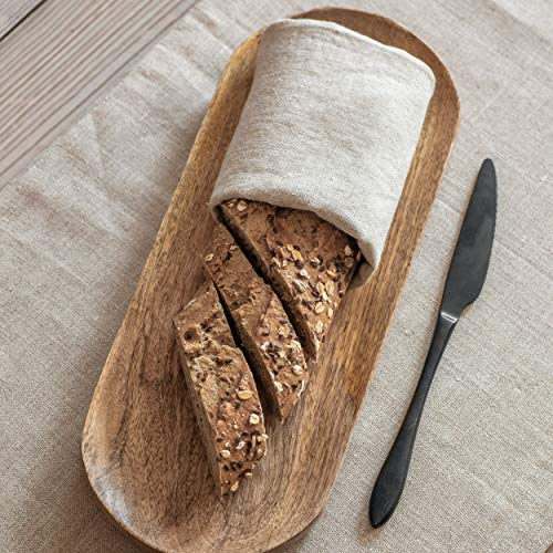 Rustiek Breadboard Premium Mango Wood van CKB LTD Diner Eettafel Middenstuk Brood Serveerborden 2,5 x 35 x 14cm