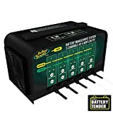 Battery Tender 5-Bank Charger: Selectable 6V /, 4 Amp Automotive 12V Battery Charger with 5 Banks - Smart and Switchable Multi Bank 12V Battery Charger and Maintainer Station - 021-0133-DL-WH