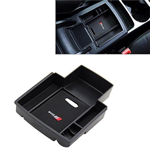 tbparts Auto Handschuhfach Armlehne Aufbewahrungsbox Organizer Mittelkonsole Net Auto Zubehör für A4 A5 B8 Aufbewahrungsboxen