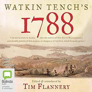 Watkin Tench's 1788 cover art