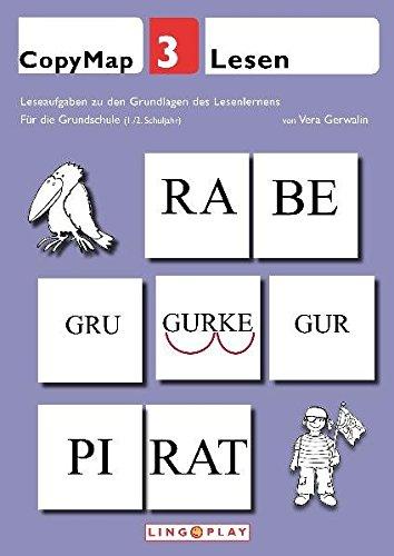 CopyMap 3: Leseaufgaben zu den Grundlagen des Lesenlernens: Lesen - Für die Grundschule (1./2. Schuljahr)