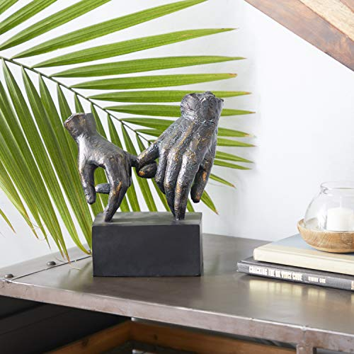 """Pinky Swear"" Hands Stylish Table Decor Statue"