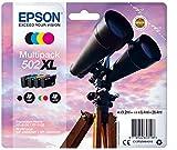 Epson Multipack 4-colours 502XL Ink - Cartouches d'encre (Original, Encre à pigments, Noir, Cyan,...