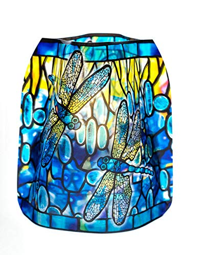 MODGY Luminary Lanterns 4-Pack - Floating LED Candles with Batteries Included - Luminaries are Great for Weddings, Parties, Patios & Celebrations of All Kinds (Dragonfly)