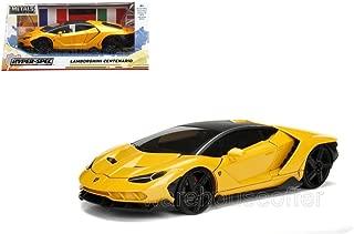 New Toys JADA 1:24 W/B - Metals - Hyper-SPEC Centenario Yellow Color 99360-WA1
