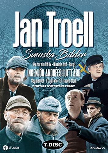 Jan Troel Collection - 7-DVD Boxset ( Här har du ditt liv / Ole dole doff / Bang! / Ingenjör Andrées luftfärd / Sagolandet / Il capitano / En frusen dröm / Uppe [ Schwedische Import ]
