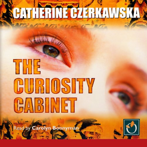 The Curiosity Cabinet audiobook cover art