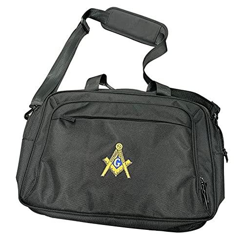Mason/Freemason Port Authority Rapid Pass Briefcase Black