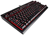 Corsair K63 Tastatur USB QWERTY UK Englisch Schwarz - Tastaturen (Verkabelt, USB, Mechanischer Switch, QWERTY, Schwarz)