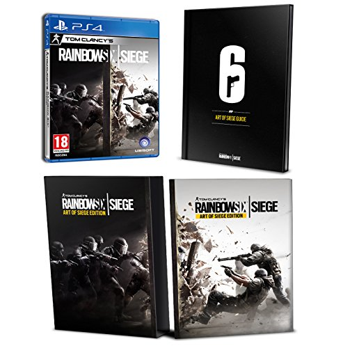 Tom Clancy's Rainbow Six Siege - Art of Siege Edition - PS4 - PRE OWNED