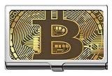 Estuche de tarjeta de crédito profesional para negocios/Estuche de identificación, Estuche de identificación/titular/tarjetas de tarjeta de crédito de papel moneda de Bitcoin