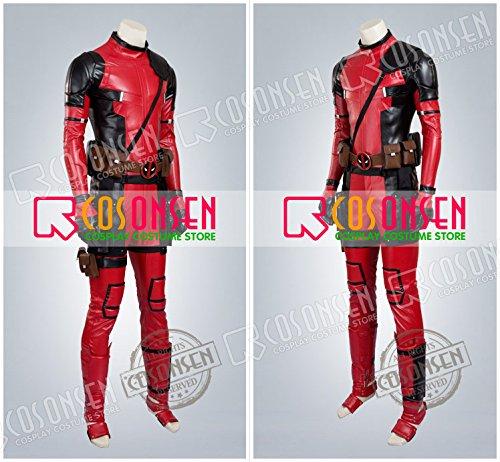 『X-Men X-メン エックスメン デッドプール(Deadpool) ウェイド・ウィルソン コスプレ衣装 COSONSEN (オーダーサイズ)』の3枚目の画像