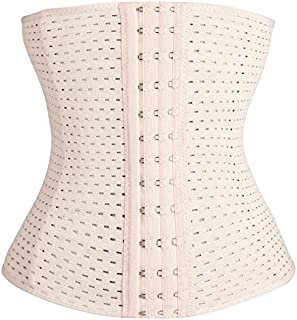Womens Waist Trainer Cincher Underbust Corset Tummy Control Body Shaper Slimming Belt