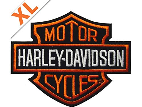 Harley-Davidson Bar Shield Badge & emb302386 Grande